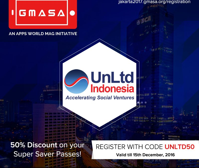 [Partners Event] The Global Mobile App Summit and Awards (GMASA) 2017, the World's Largest Event for Mobile App Innovations will be Arriving for the First Time to Jakarta, Indonesia